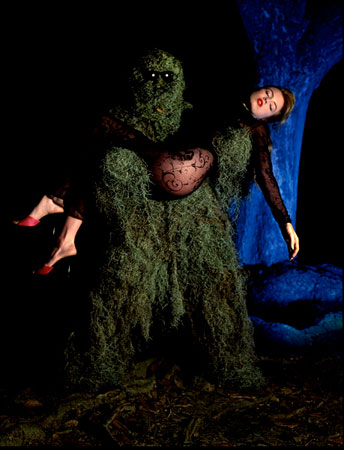 Tracy Lords with Moss Man, New Orleans 1992