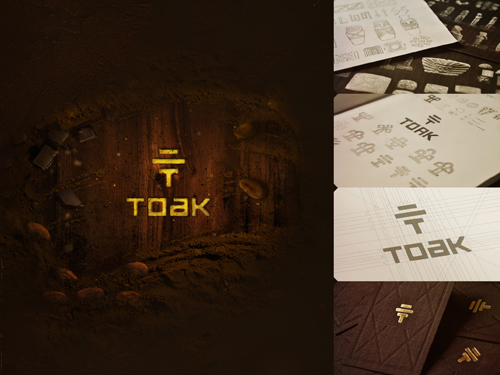 Proyecto: Branding/ Toak Chocolate, All is one.